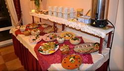 Śniadanie dla grupy emerytów - wczasy dla grup emerytów i rencistów